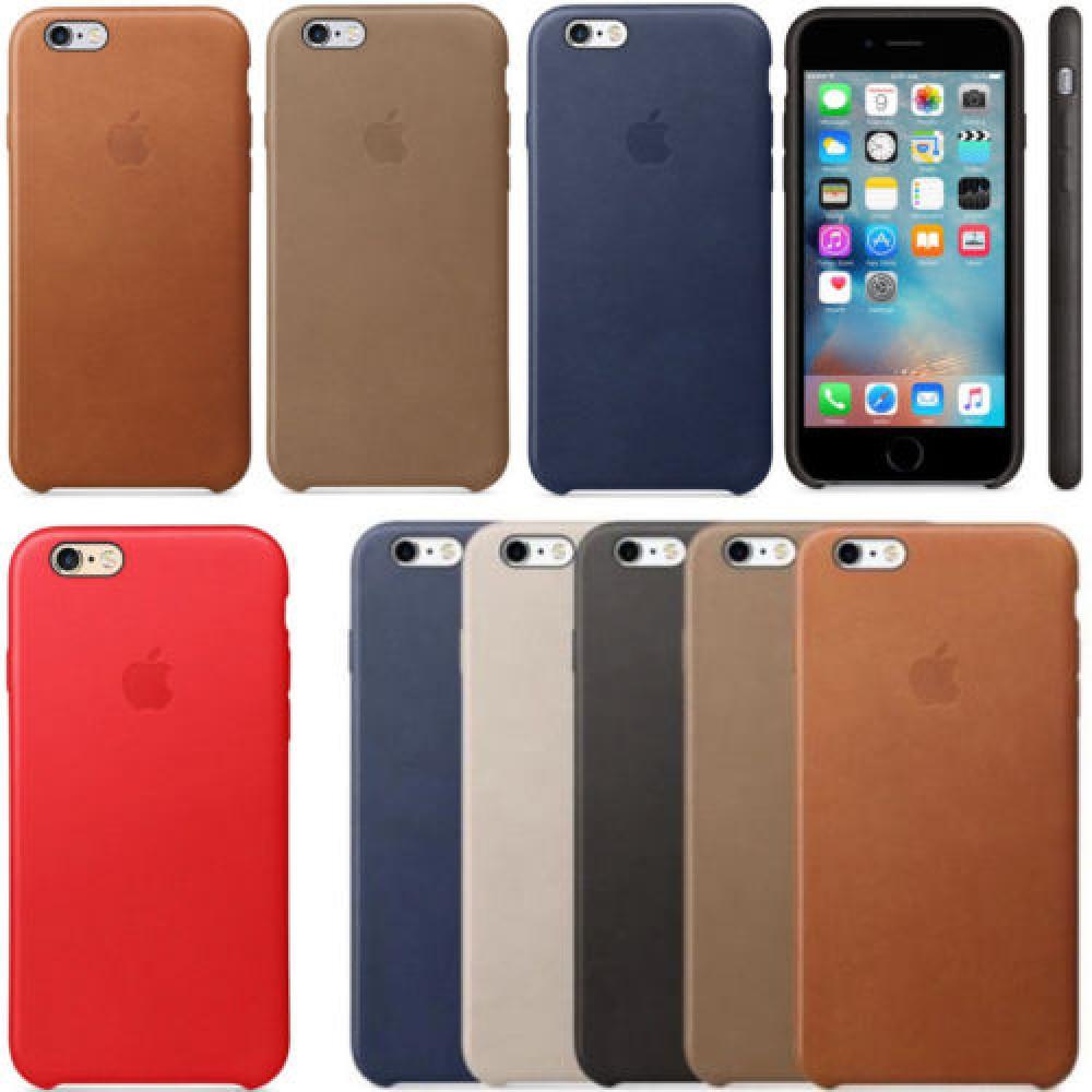 Case Apple couro Primeira Linha Iphone 6/6s