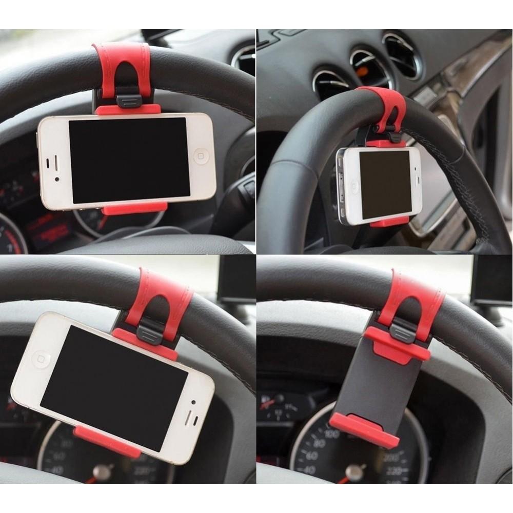 Suporte para celular/gps no volante