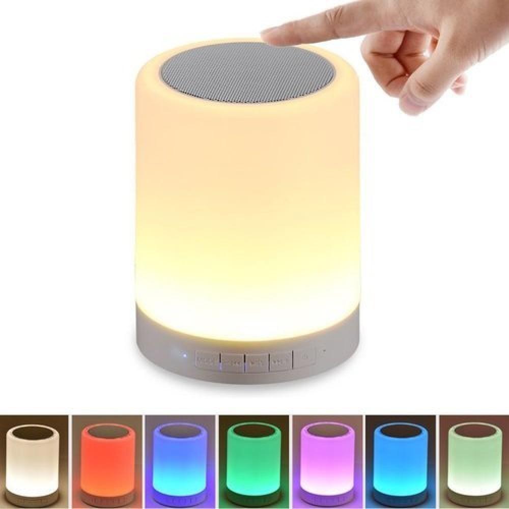 Caixa de som Luminária