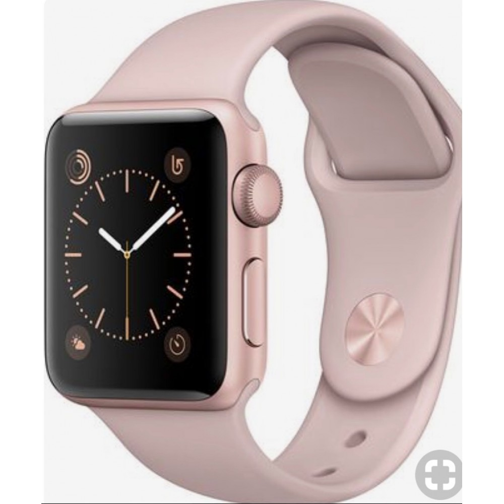 Pulseira Emborrachada Apple Watch Nude