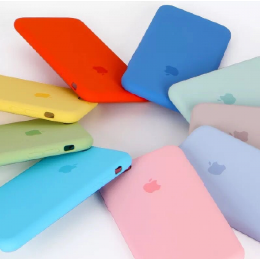 Case Apple 1 linha silicone Iphone X