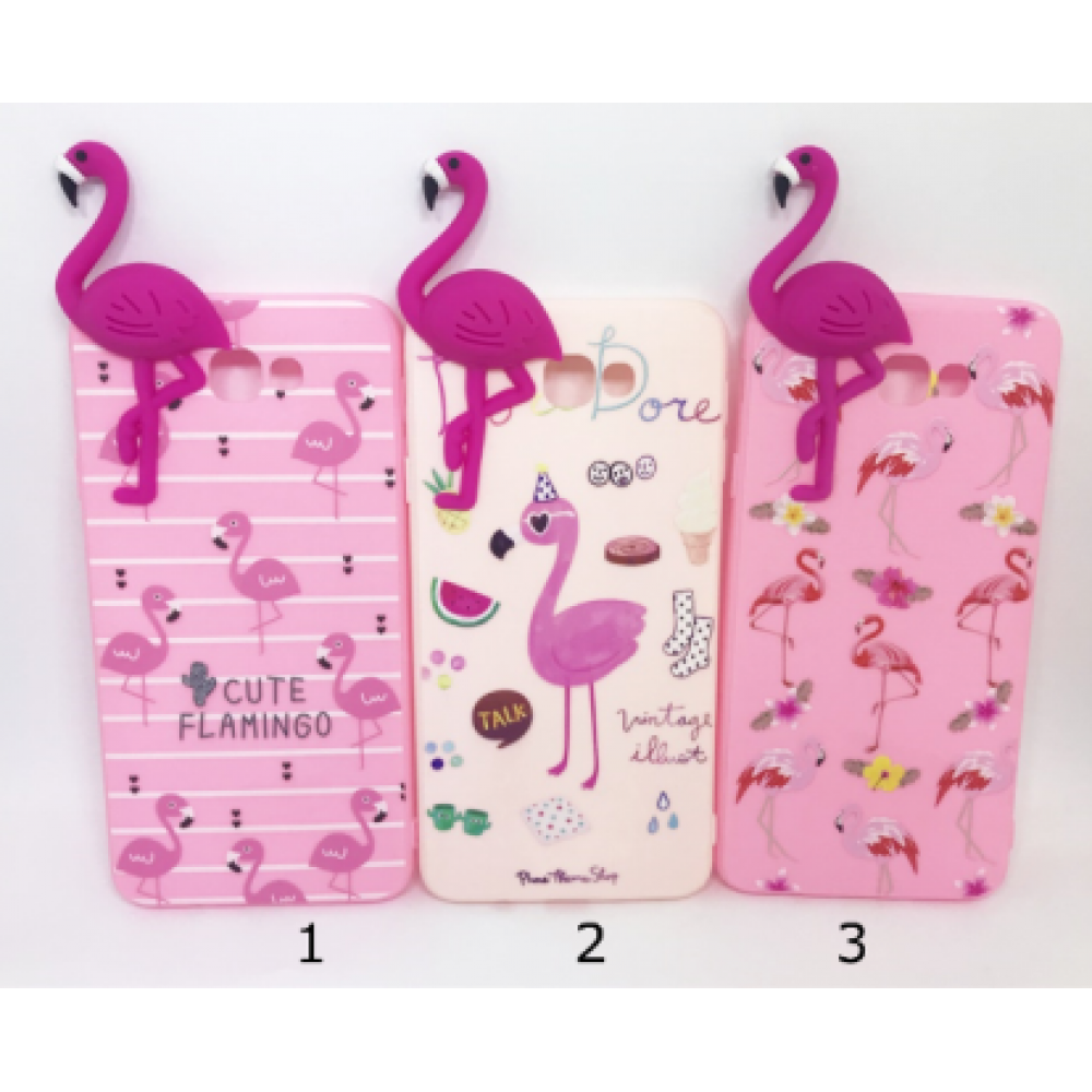 Case Flamingo 3D J7 Prime