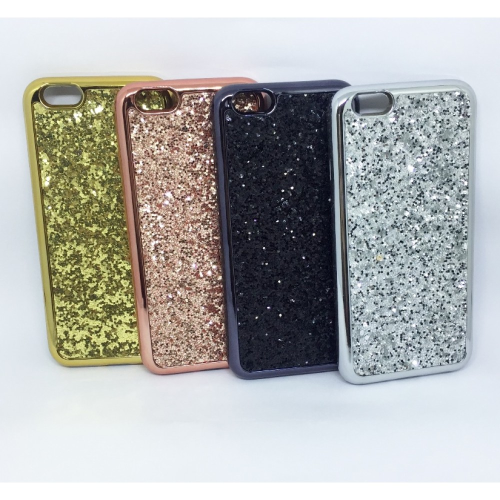 Case glitter silicone Iphone 6/6s 4.7""