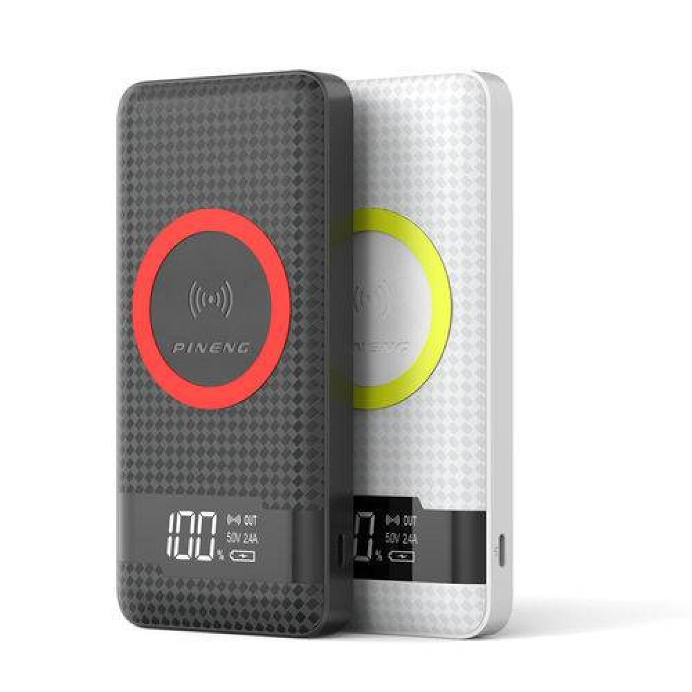 Power Bank Qi (indução) Display Digital