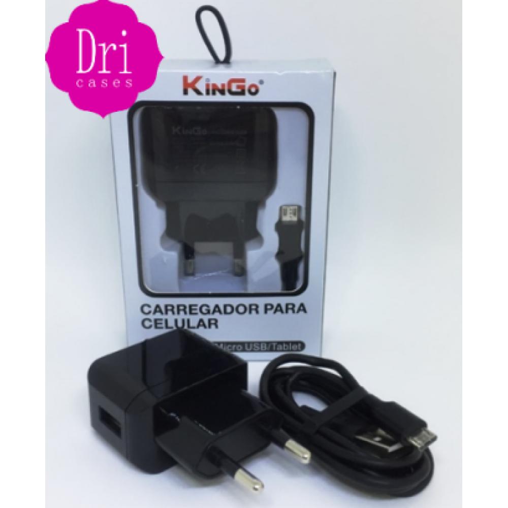 Kit Carregador V8 KinGo