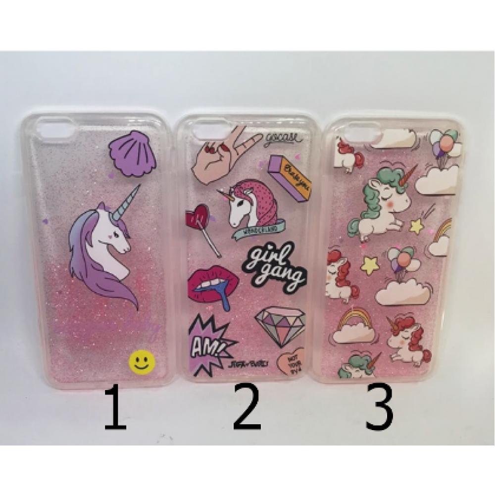 Case Brilho Unicórnio Iphone 6Plus/6sPlus