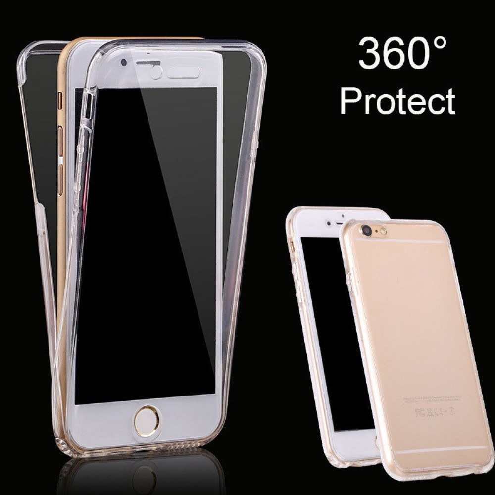 Case 360 Transparente Iphone e Galaxy