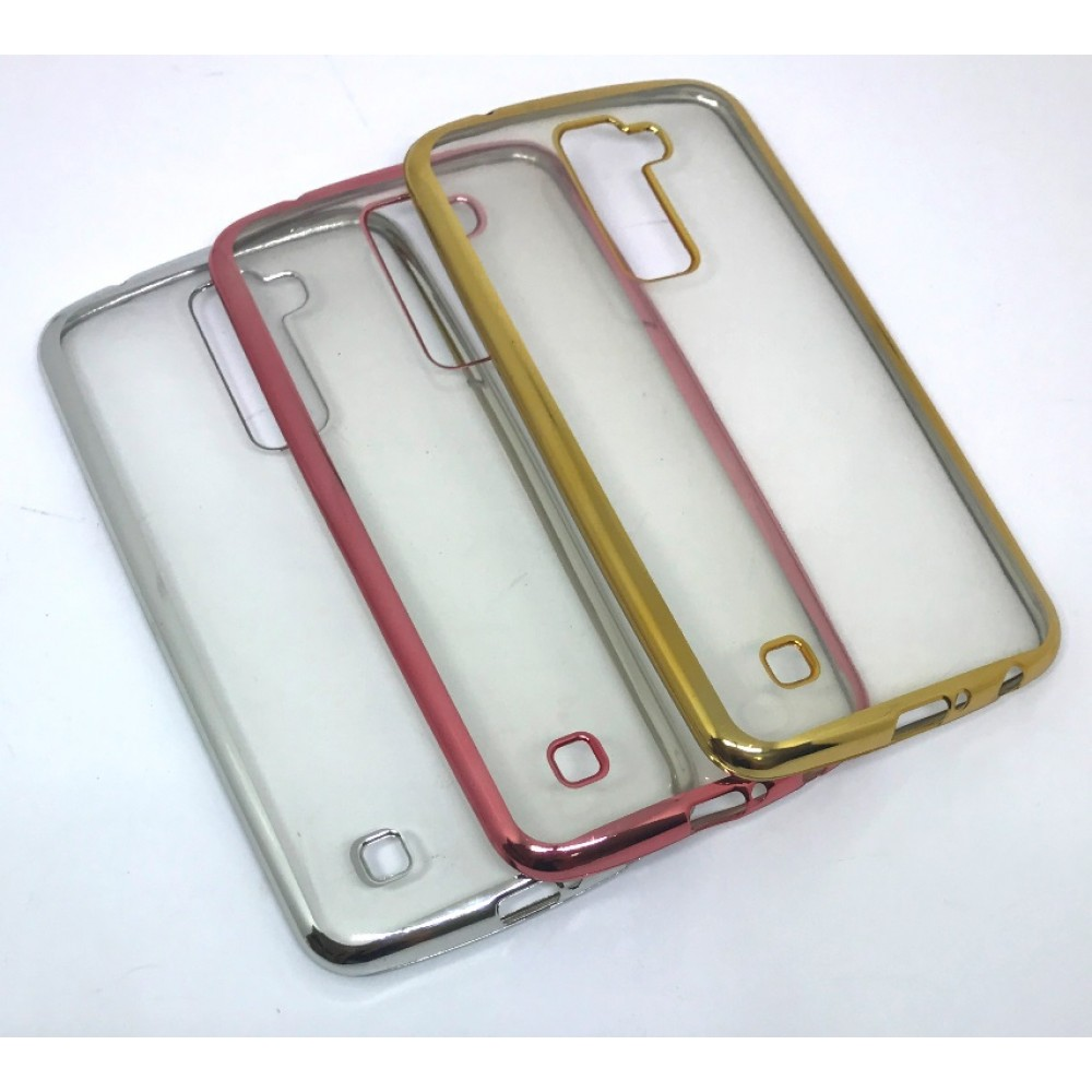 Case metalizada lateral LG K10