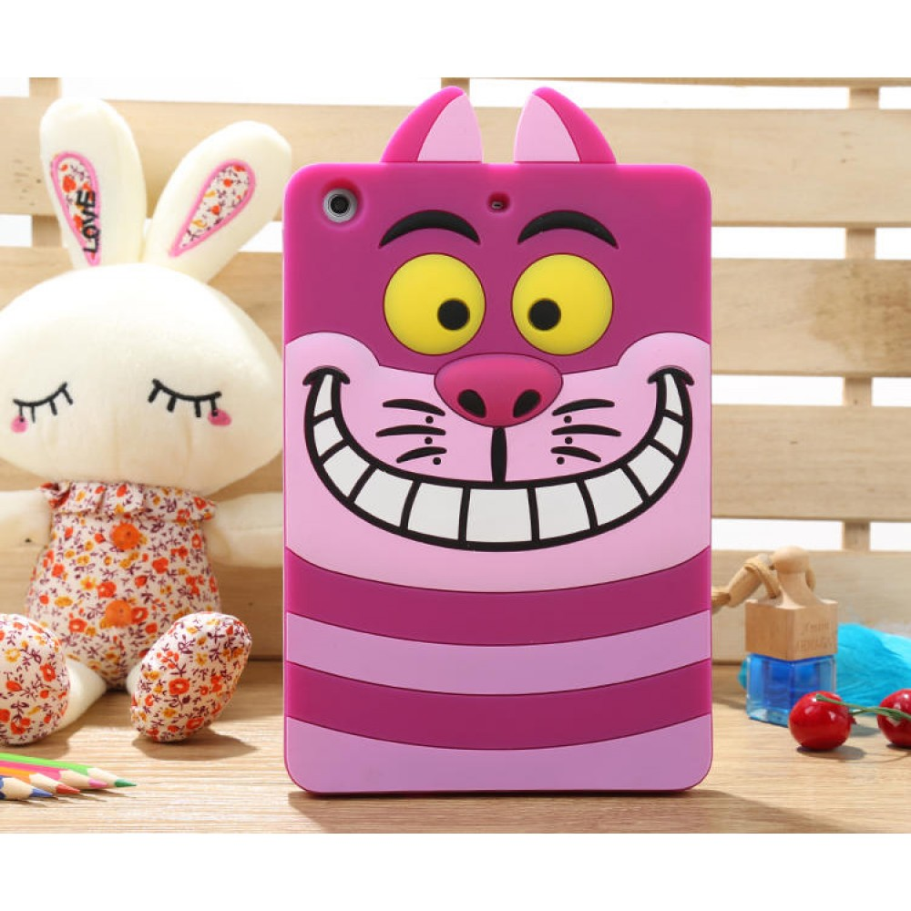 Case Ipad Gato Alice Cheshire