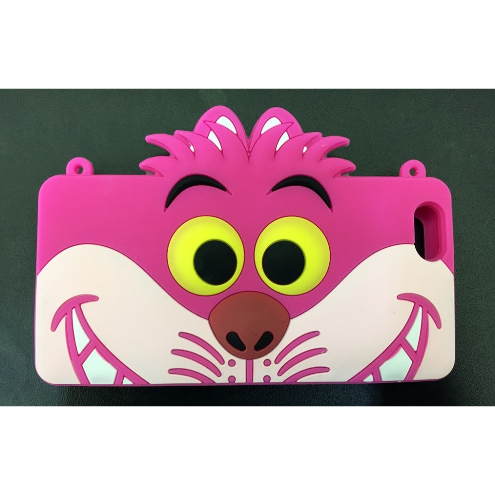 "Case Gato Alice Cheshire Iphone 5/5s e 6 ""4.7"