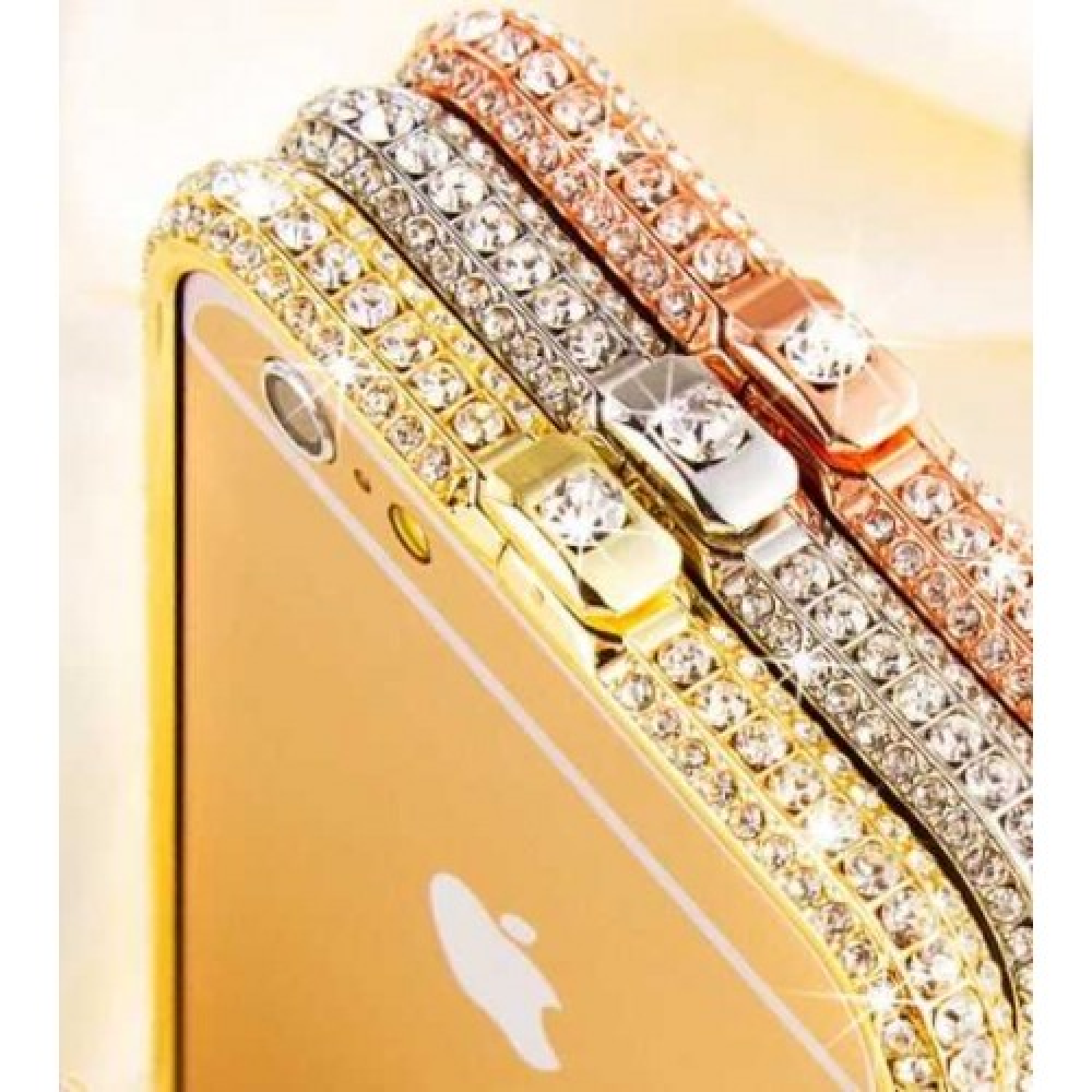 Samsung samsung android phone cases : Bumper strass LUXO Iphone 6 PLUS